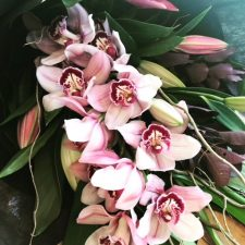Cymbidium Orchid & Lilly Bouquet Melbourne Shop